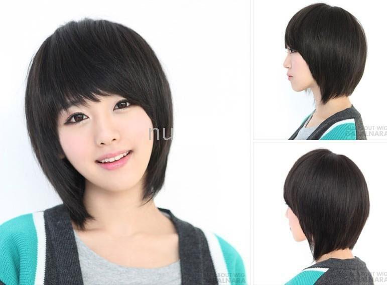 Корейские короткие причёски